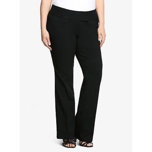 Torrid Black Relaxed Trouser Pant